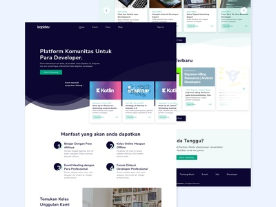 Kopidev Forum UI Design