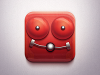 Sexy Alarm alarm sexy red glossy tasty metal date love icon ios