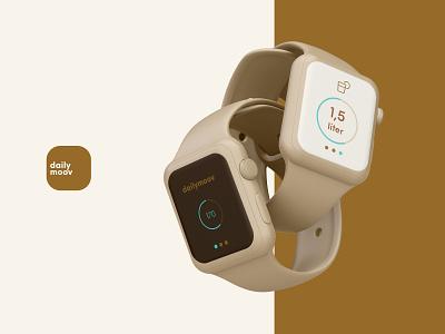 Dailymoov Watch app ux ui health watches
