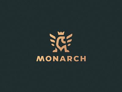 Monarch gryphon leo lion logo