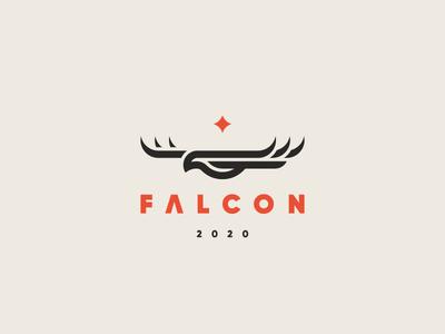Falcon bird eagle falcon logo