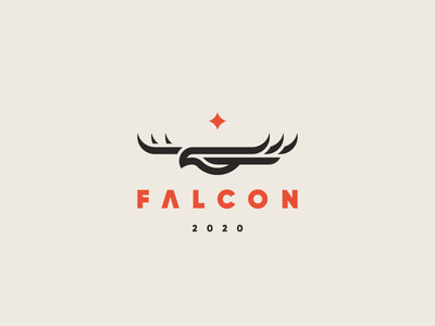 Falcon bird eagle falcon logo