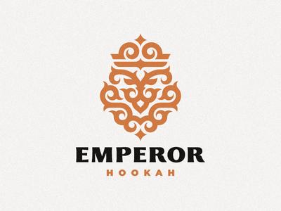 Emperor hookah leo lion logo