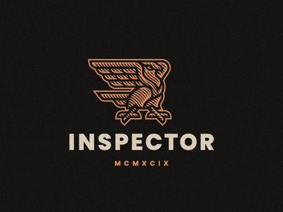 Inspector bird eagle logo