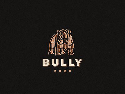 Bully bully bulldog logo