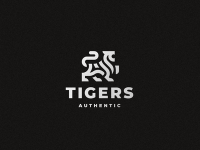 Tigers cat tiger logo