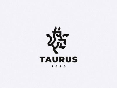 Taurus logo bull taurus