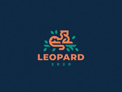 Leopard panther lion leopard logo