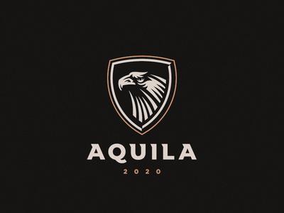 Aquila falcon eagle aquila logo
