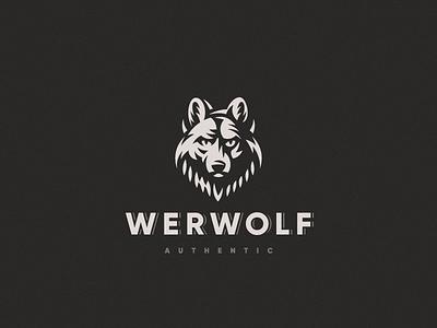 Werwolf werwolf wolf logo