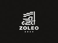 Leo concept lion leo logo