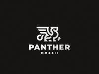 Panther lion logo panther