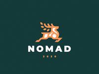 Nomad logo deer