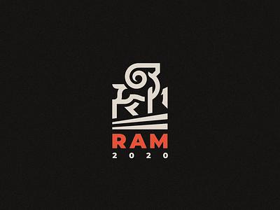 Ram logo aries ram