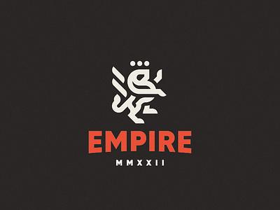 Empire concept leo lion logo