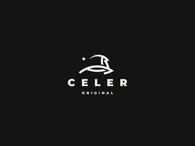 CELER gazelle deer logo