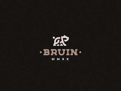 Bruin bear bruin concept logo