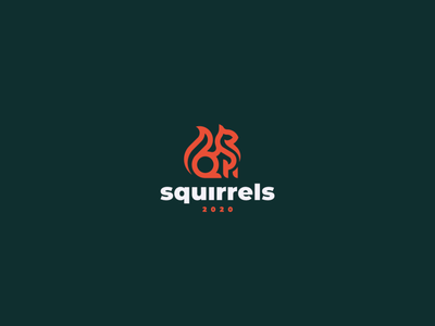 Squirrel squirrel logo