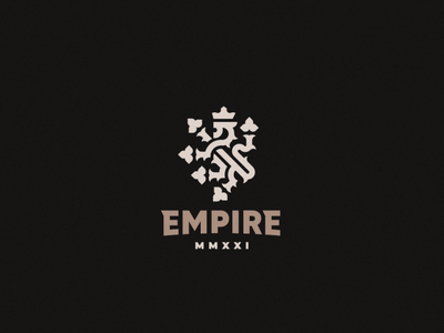 Empire concept lion logo