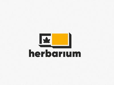 Herbarium box cannabis logo