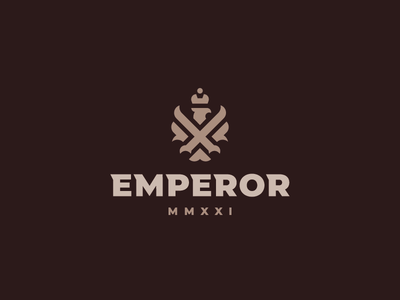Emperor eagle bird logo
