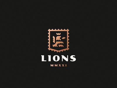 Lions lion logo