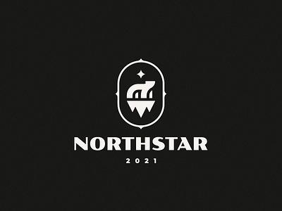 Northstar bear polar bear logo