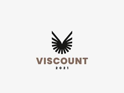 Viscount eagle bird logo