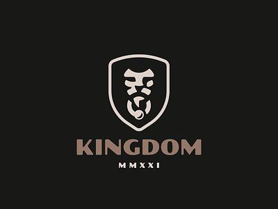 Kingdom leo lion logo