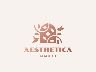 Aesthetica bird logo