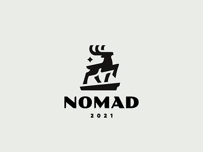 Nomad deer logo