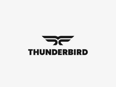 Thunderbird thunderbird bird eagle logo