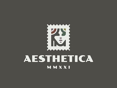 Aesthetica girl logo