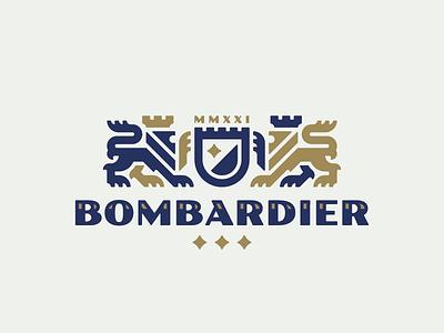 Bombardier leo concept lion logo