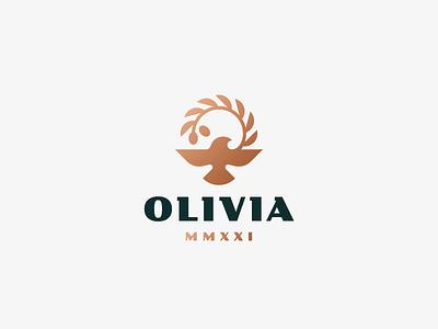 Olivia eagle bird logo