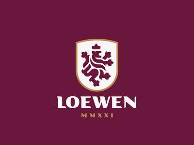 Loewen crest lion logo
