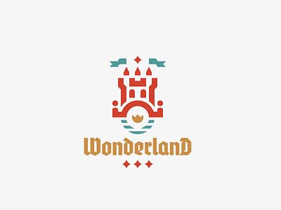 Wonderland bridge castle logo