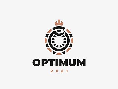 optimum snake logo
