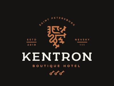 Kentron leo logo lion