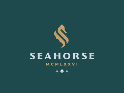 Seahorse seahorse logo horse sea