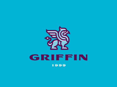Griffin logo griffon gryphon griffin