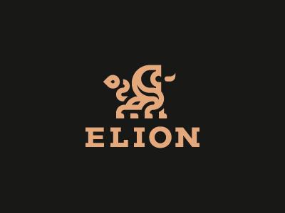 ELION leo logo lion