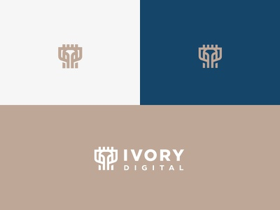 Ivory elephant logo