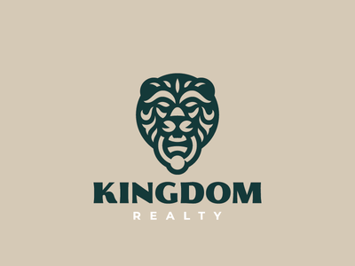 Kingdom concept leo lion logo
