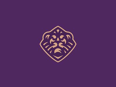 Lion concept leo lion logo