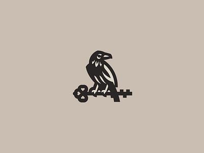 Raven key raven logo