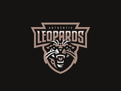 Leopards panther leopard lion logo