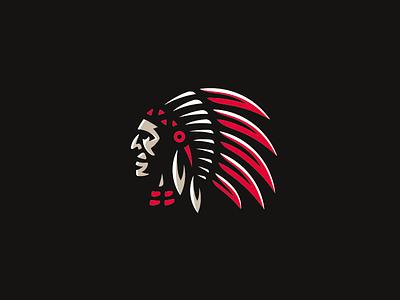 Indian indians indian concept logo