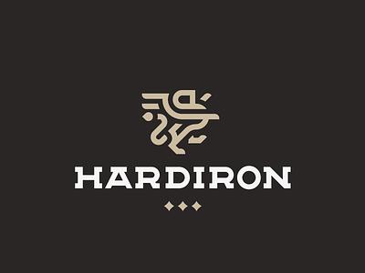 Hardiron leo lion logo