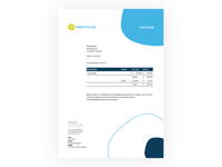 Kreativlab invoice template